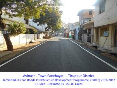 Schemes implemented in Town Panc